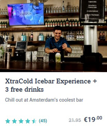 XtraCold Icebar Experience