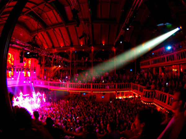 Concert of James Brown in Paradiso