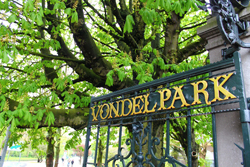 Vondelpark in Amsterdam in the Netherlands