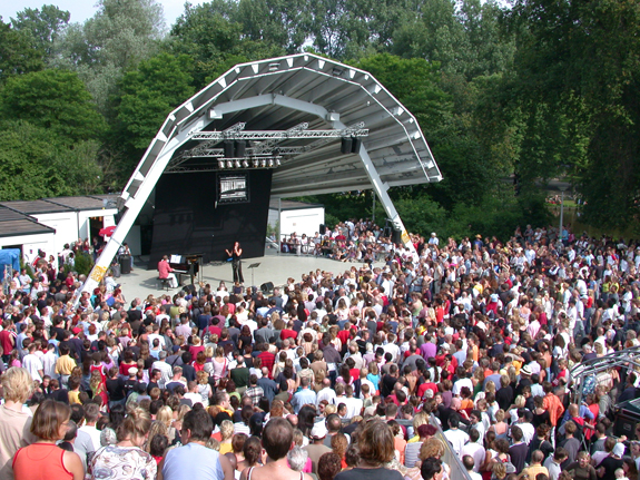 Open air theatre in the Vondelpark