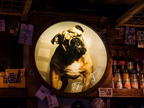 Coffeeshop the Bulldog nr 90 in Amsterdam