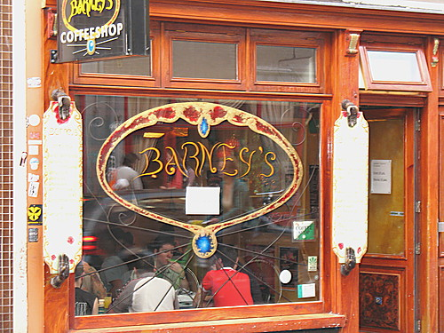 Coffeeshop Barney's in Amsterdam