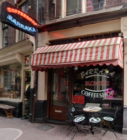 Coffeeshop Barraka in Amsterdam, the Netherlands
