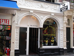 Coffeeshop Blues Brothers in Amsterdam