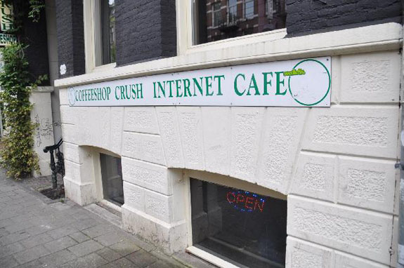 Coffeeshop Crush in Amsterdam