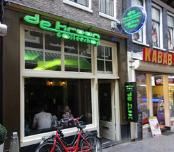 Coffeeshop De Kroon in Amsterdam, The Netherlands
