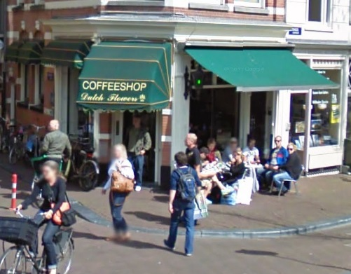 Coffeeshop Dutch Flowers in Amsterdam