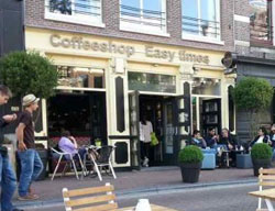 Coffeeshop Easy Times in Amsterdam in the Netherlands