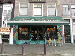 Coffeeshop Greenhouse in centrum Amsterdam