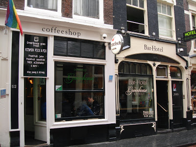 Coffeeshop Greenhouse Effect in Amsterdam