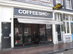 Coffeeshop Greenhouse Lounge in Amsterdam, the Netherlands