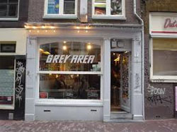 Coffeeshop Grey Area in Amsterdam