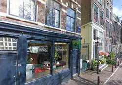 Coffeeshop Het Gelderse in Amsterdam. The Netherlands