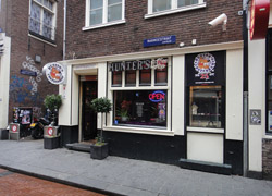 Coffeeshop Hunter's Warmoesstraat 24
