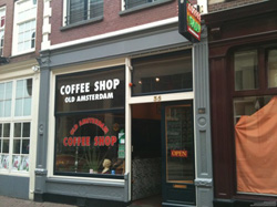 Coffeeshop Old Amsterdam in Amsterdam, the Netherlands