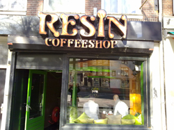 Coffeeshop Resin in Amsterdam