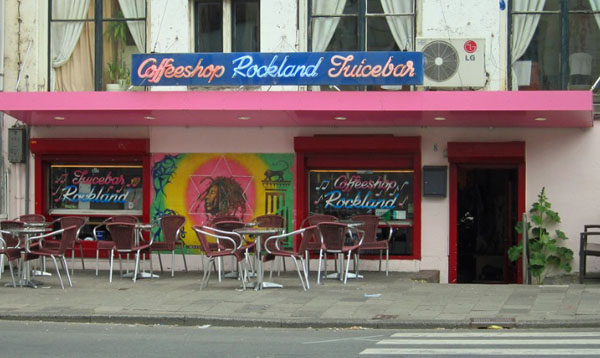 Coffeeshop Rockland in Amsterdam