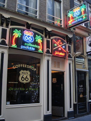 Coffeeshop Route66 in Amsterdam
