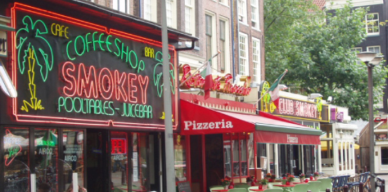 Coffeeshop Smokey in Amsterdam