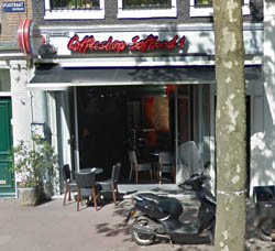 Coffeeshop Softland in Amsterdam in the Netherlands