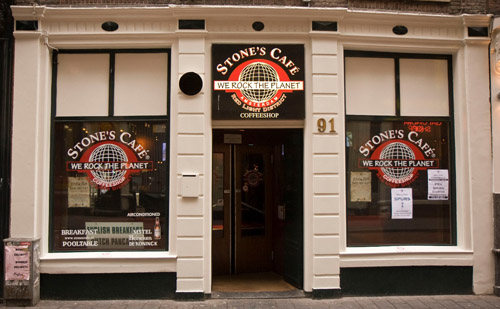 Coffeeshop Stone's Cafe Amsterdam