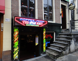 Coffeeshop The Bassment in Amsterdam