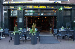 Coffeeshop The Bulldog Lounge in Amsterdam