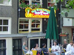 Coffeeshop The Bushdocter in Amsterdam in the Netherlands