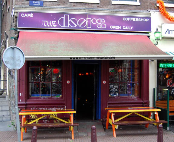 Coffeeshop The Doors in Amsterdam
