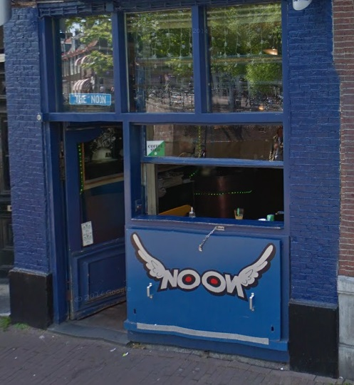 Coffeeshop The Noon in Amsterdam in the Netherlands