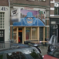 Coffeeshop The Spirit in Amsterdam in the Netherlands