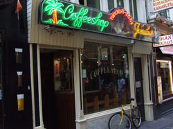 Coffeeshop Twilight Zone in Amsterdam in the Netherlands
