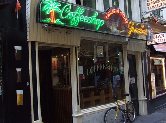 Coffeeshop Twilight Zone in Amsterdam