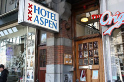 Hotel Aspen in Amsterdam in the Netherlands