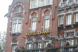 Hotel Di-Ann in Amsterdam in the Netherlands