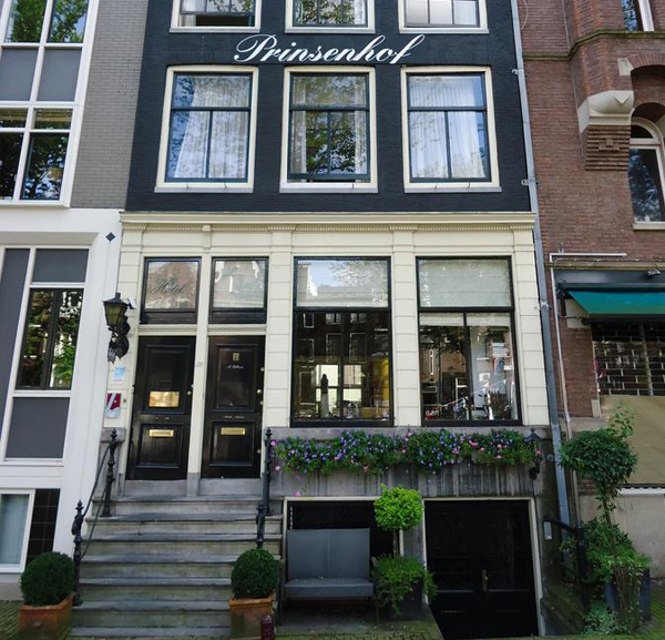 Hotel Prinsenhof in Amsterdam in the Netherlands
