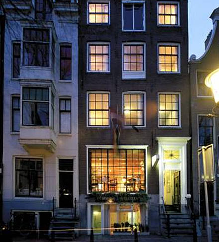 ITC Hotel in Amsterdam in the Netherlands