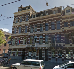 Hotel Oosterpark in Amsterdam (Google streetview)