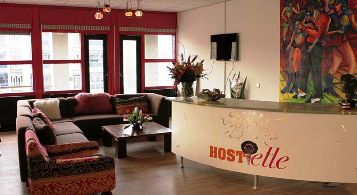 Hostelle in Amsterdam in the Netherlands
