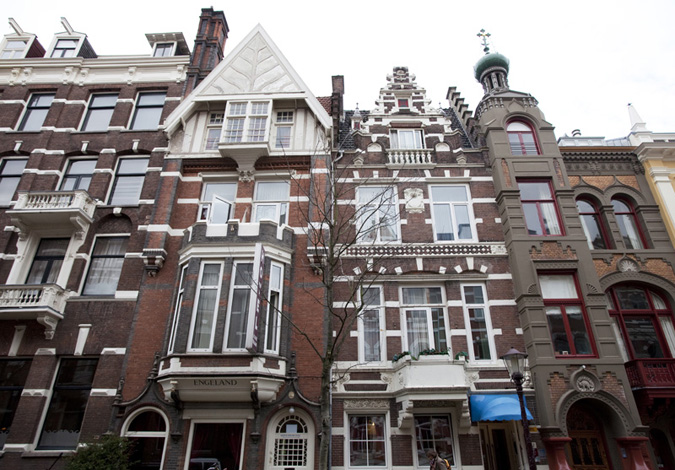 Prinsen Hotel in Amsterdam in the Netherlands