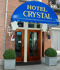 Hotel Crystal in Amsterdam in the Netherlands