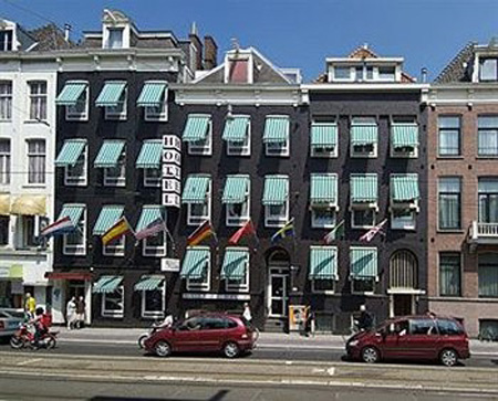 Hotel Europa 92 in Amsterdam in the Netherlands