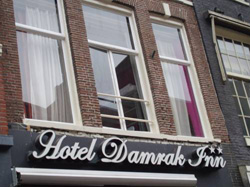 Hotel Damrak Inn in Amsterdam in the Netherlands