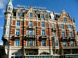 Hotel De L'Europe in Amsterdam in the Netherlands