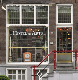 Hotel Des Arts in Amsterdam in the Netherlands