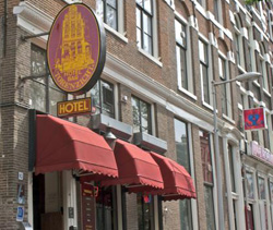 Hotel Torenzicht in Amsterdam in the Netherlands