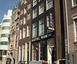 Rokin Hotel in Amsterdam in the Netherlands