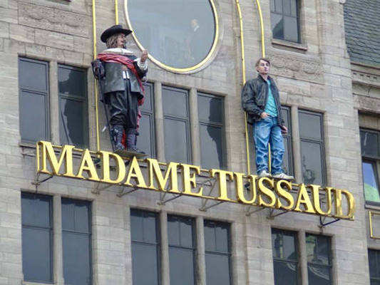 Amsterdam Madame Tussauds front side