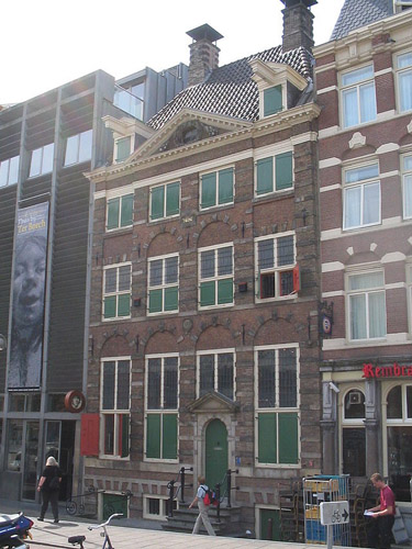 The Rembrandt House Museum in Amsterdam