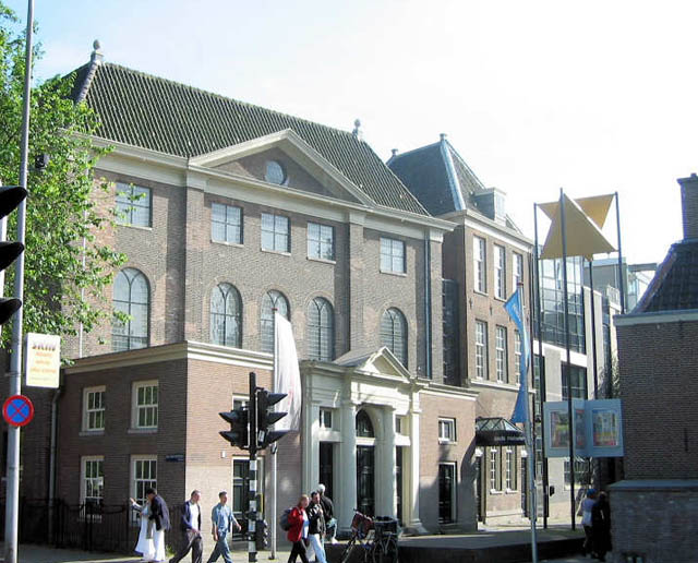 Jewish Historical Museum in Amsterdam in the Netherlands